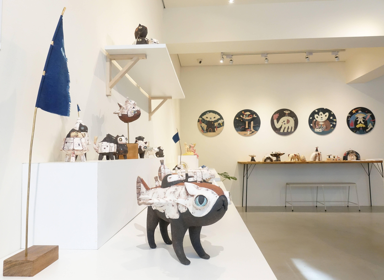 蔡文明作品系列於荻達寓見展覽。