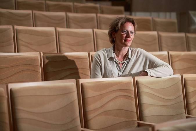 衛武營國家藝術文化中心建築師法蘭馨•侯班(Francine Houben)。照片/衛武營國家藝術文化中心提供。