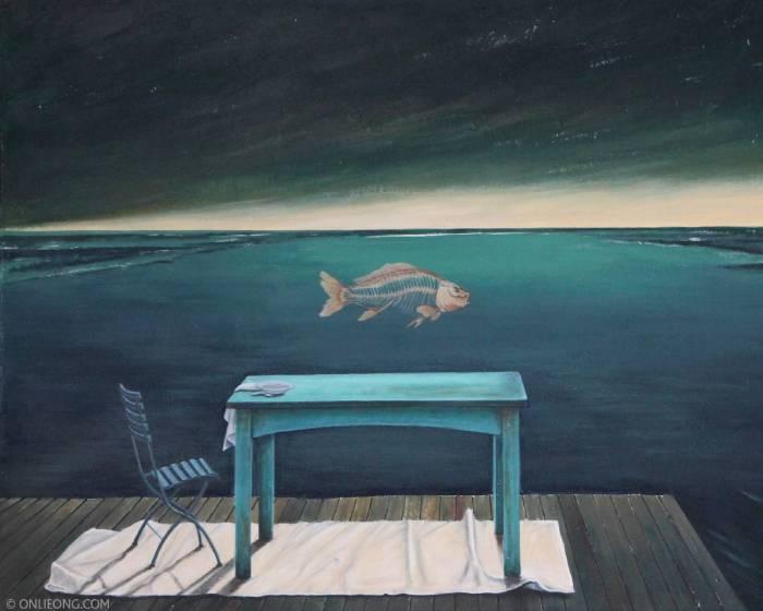 敦煌藝術中心:【夢境-紐西蘭遐想 翁樹木(翁笠)繪畫創作首展】Dreamland-New Zealand Delusion Onlie Ong First Exhibition of Painting