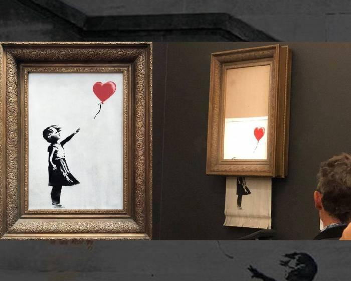 《藝術解謎》特別企劃 - 班克斯(Banksy)碎畫機謎案隨想