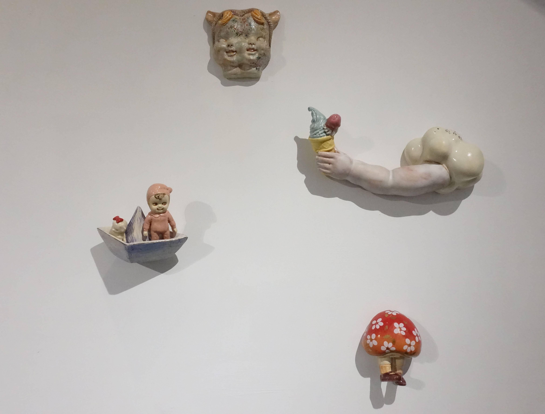 唐瑄,《夏日組曲》,陶瓷。