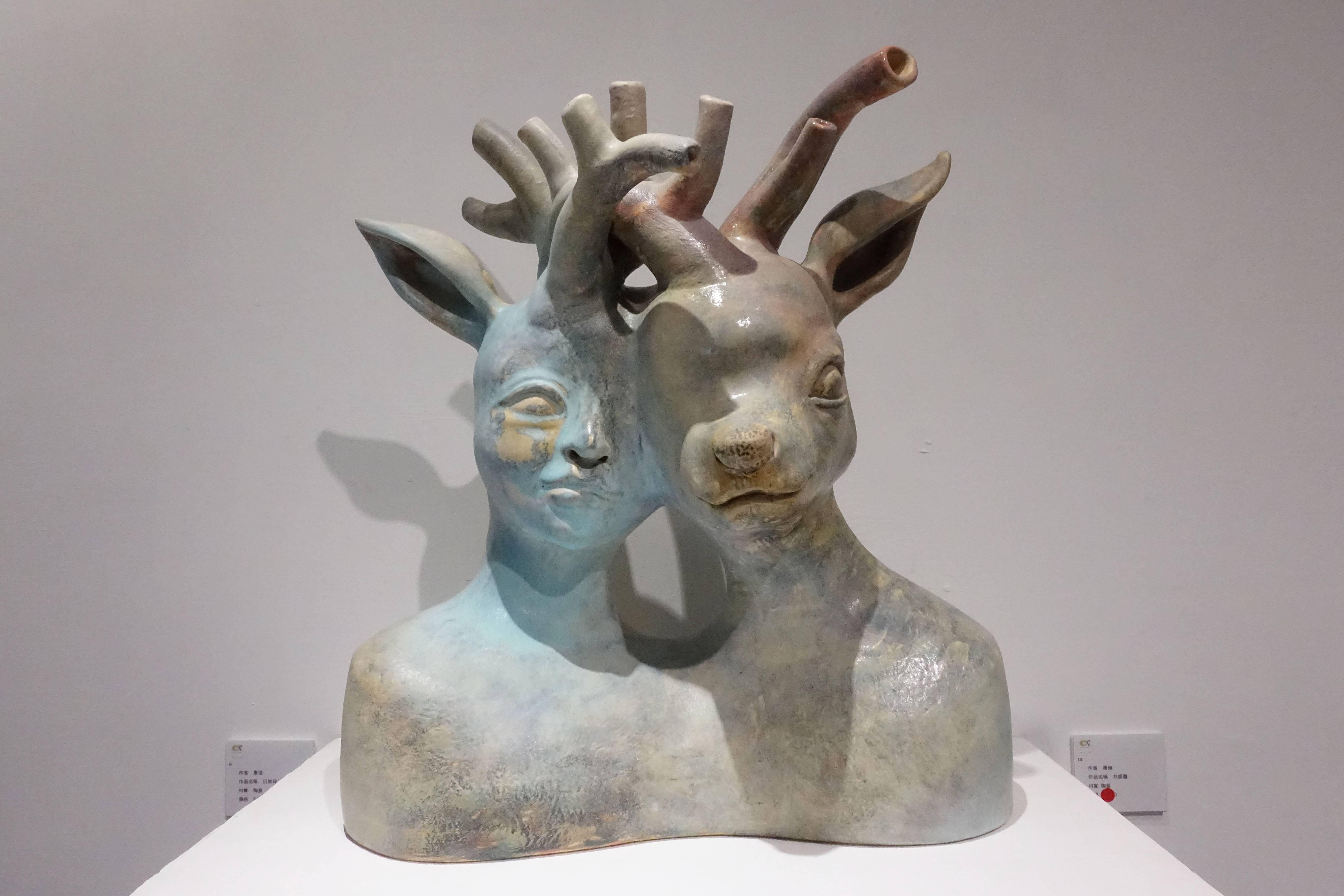 唐瑄,《共感體》,陶瓷。