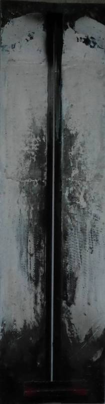 96-06, 88x23x5cm, 鐵, 1996