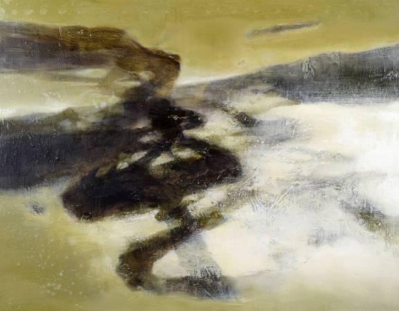 周宸 Chou Chen / 丁酉仲冬廿七 2018.01.13, 油畫 Oil on canvas ,91x116.5 cm, 2018