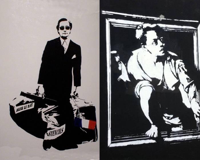 「貨真價實的街頭藝術先驅」 - 模板塗鴉之父Blek Le Rat