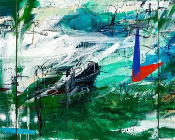 102當代藝術空間:【在東西文化渡口間的自然序】謝其昌的自然抽象語彙