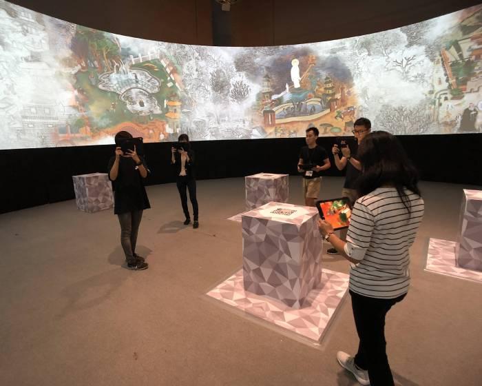 國美館推出「蓮池潭外傳普拉斯+:多感官新媒體互動展」