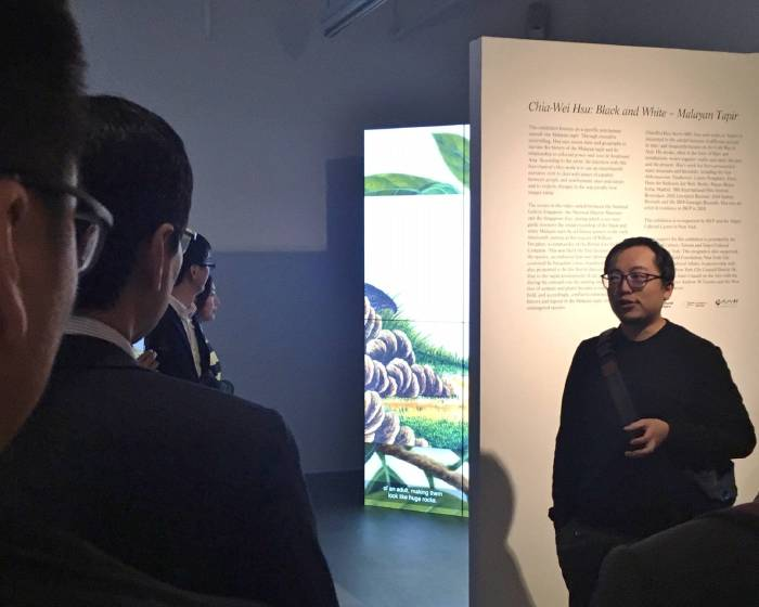 藝術家許家維新作《黑與白—馬來貘》紐約國際首展