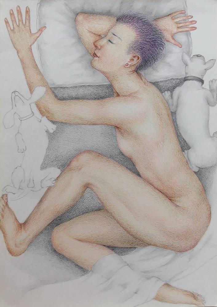 蘇志徹作品,沉睡系列。