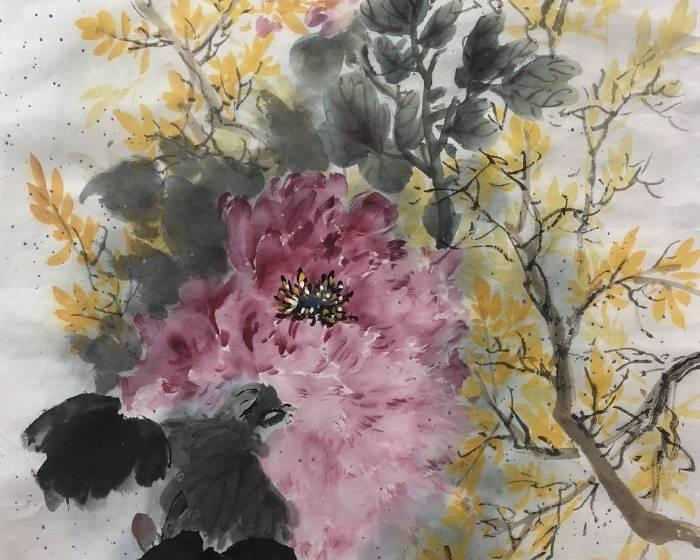 桃園市土地公文化館【境由心造】陳效尼水墨創作個展
