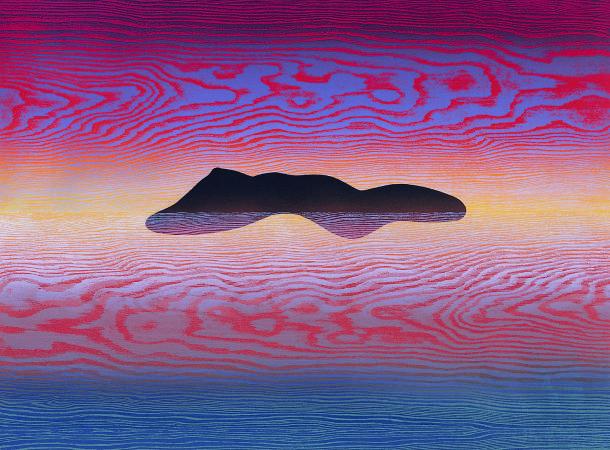 林雪卿, 俯仰之間-怡然, , 75x105 cm, 併用版、紙張, 2010