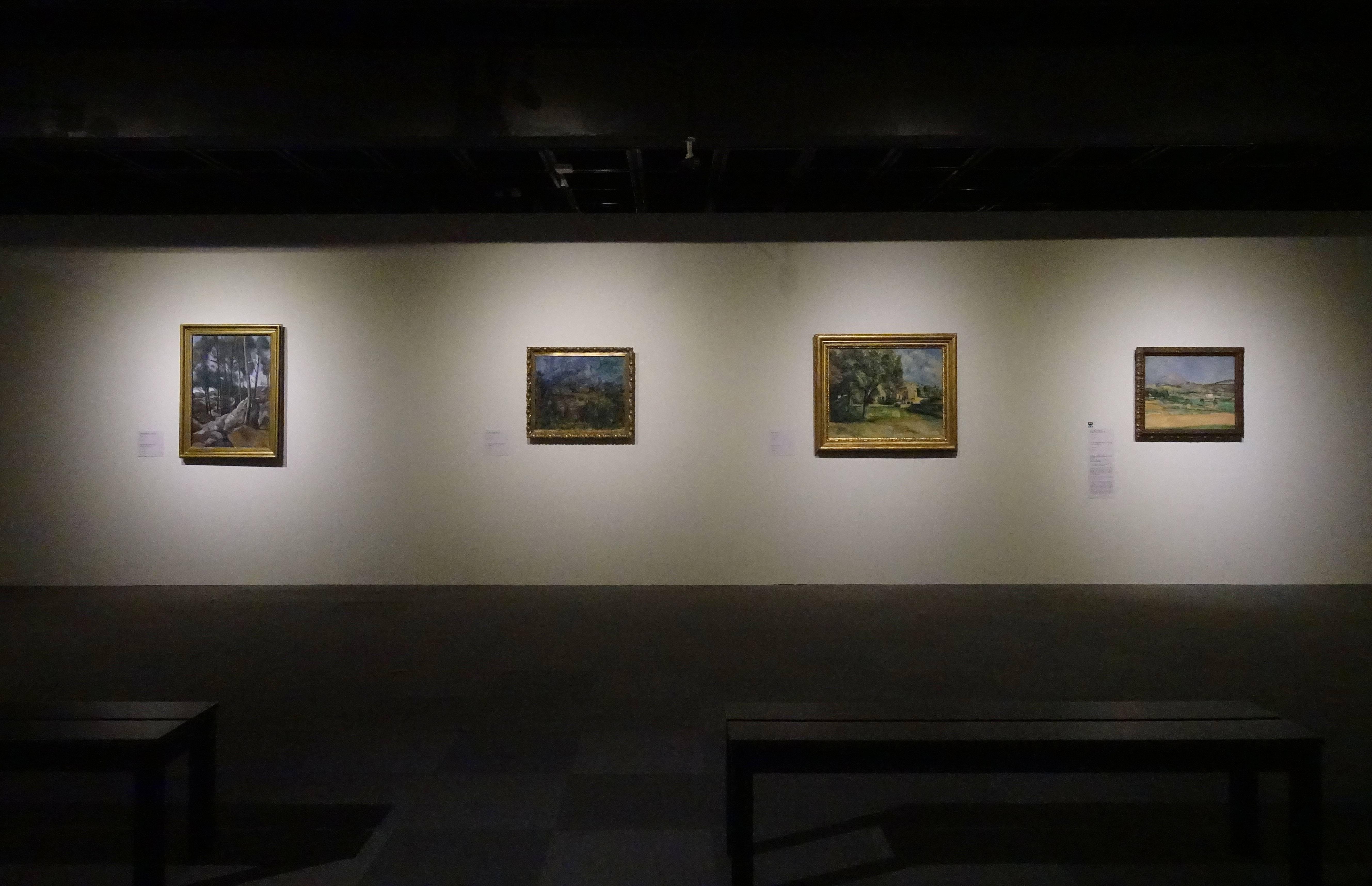 【悠遊風景繪畫-俄羅斯普希金博物館特展】展場一景。