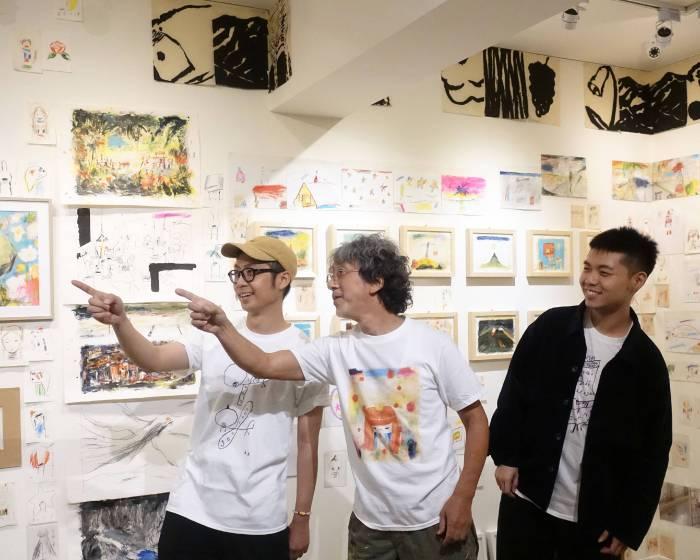 荻達寓見 diida ART BOX:荒井良二Ryoji Arai台灣首次創作展-想像的旅行