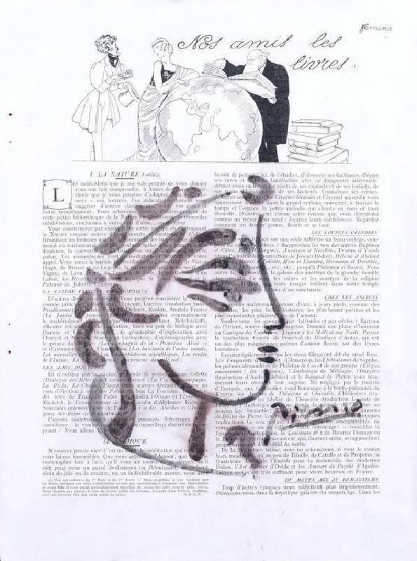畢卡索,法國時尙雜誌上的女性頭像隨筆。