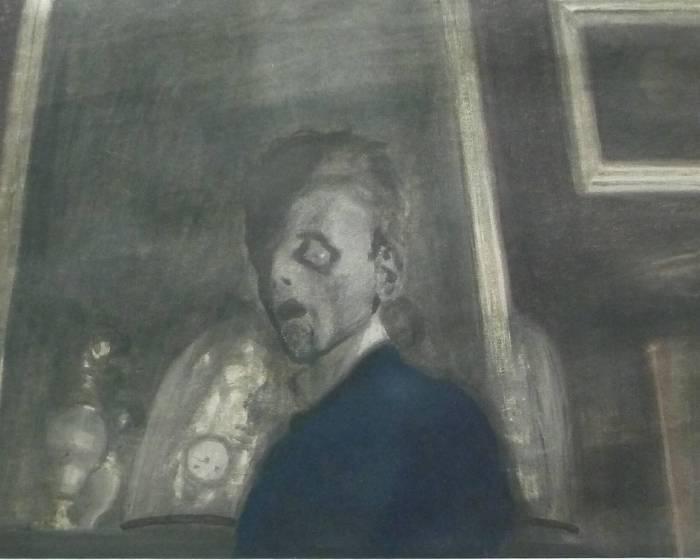 「暗黑中的自尊」─ 比利時藝術家Léon Spilliaert