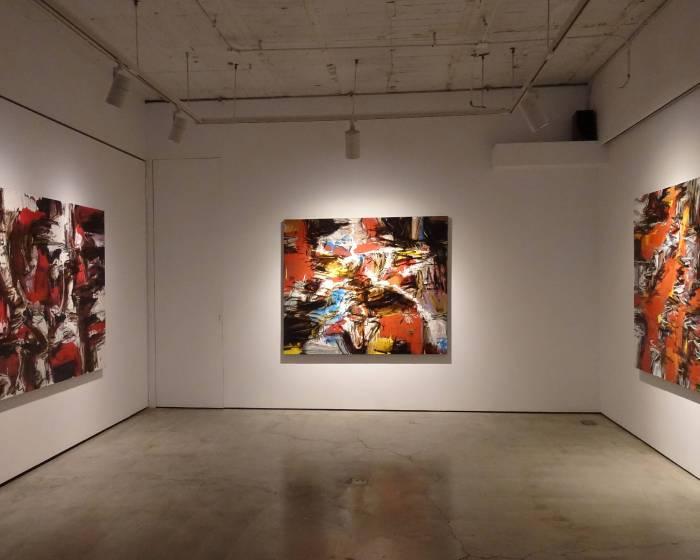 新畫廊:Rafiee Ghani X Suzlee Ibrahim – 馬來西亞當代抽象繪畫雙個展