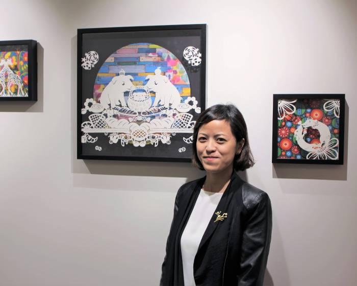 百靈佳殷格翰與藝術家吉剪花合作 賦予傳統剪紙藝術創新生命力