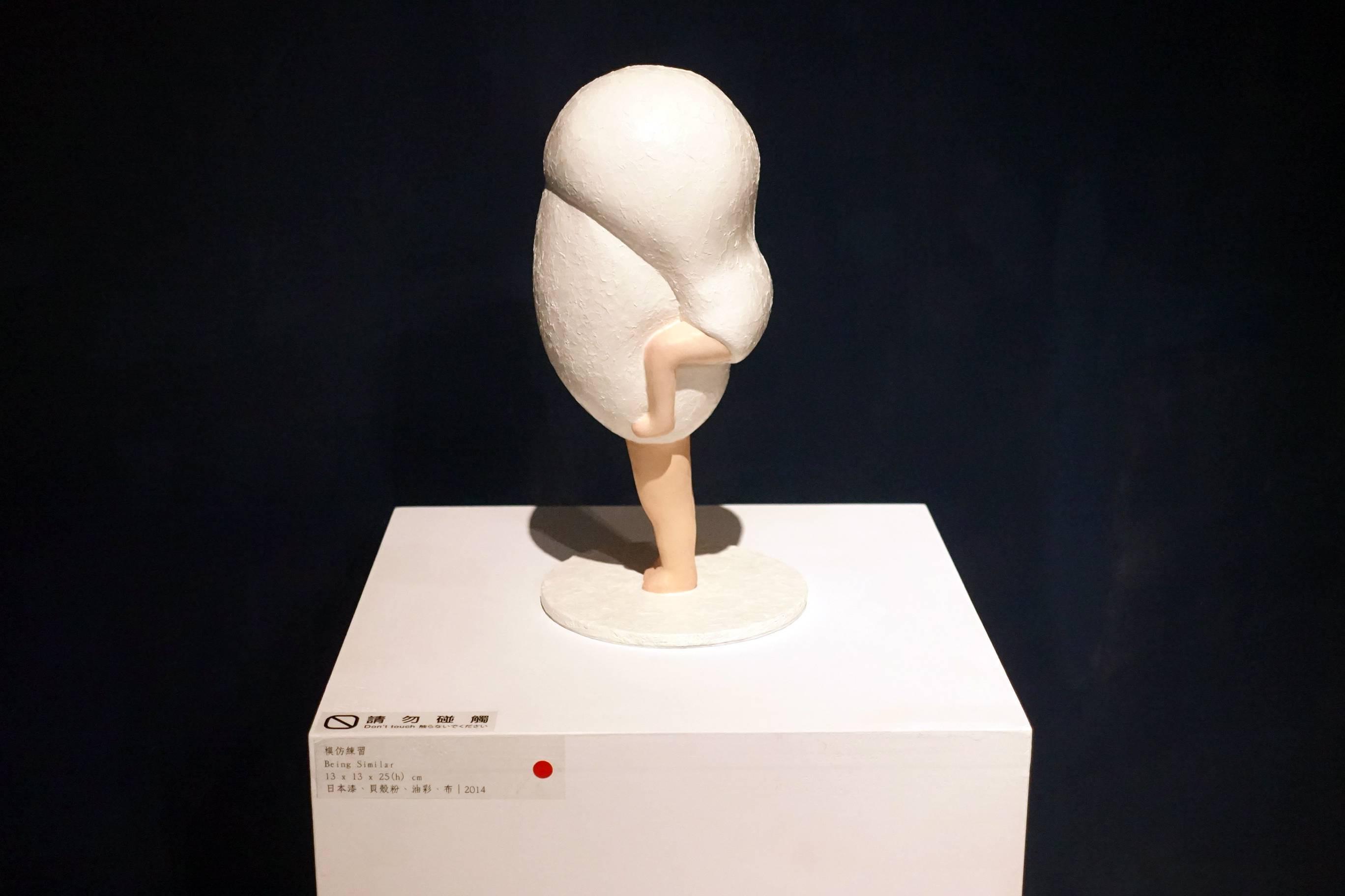 小澤香奈子作品《模仿練習》。
