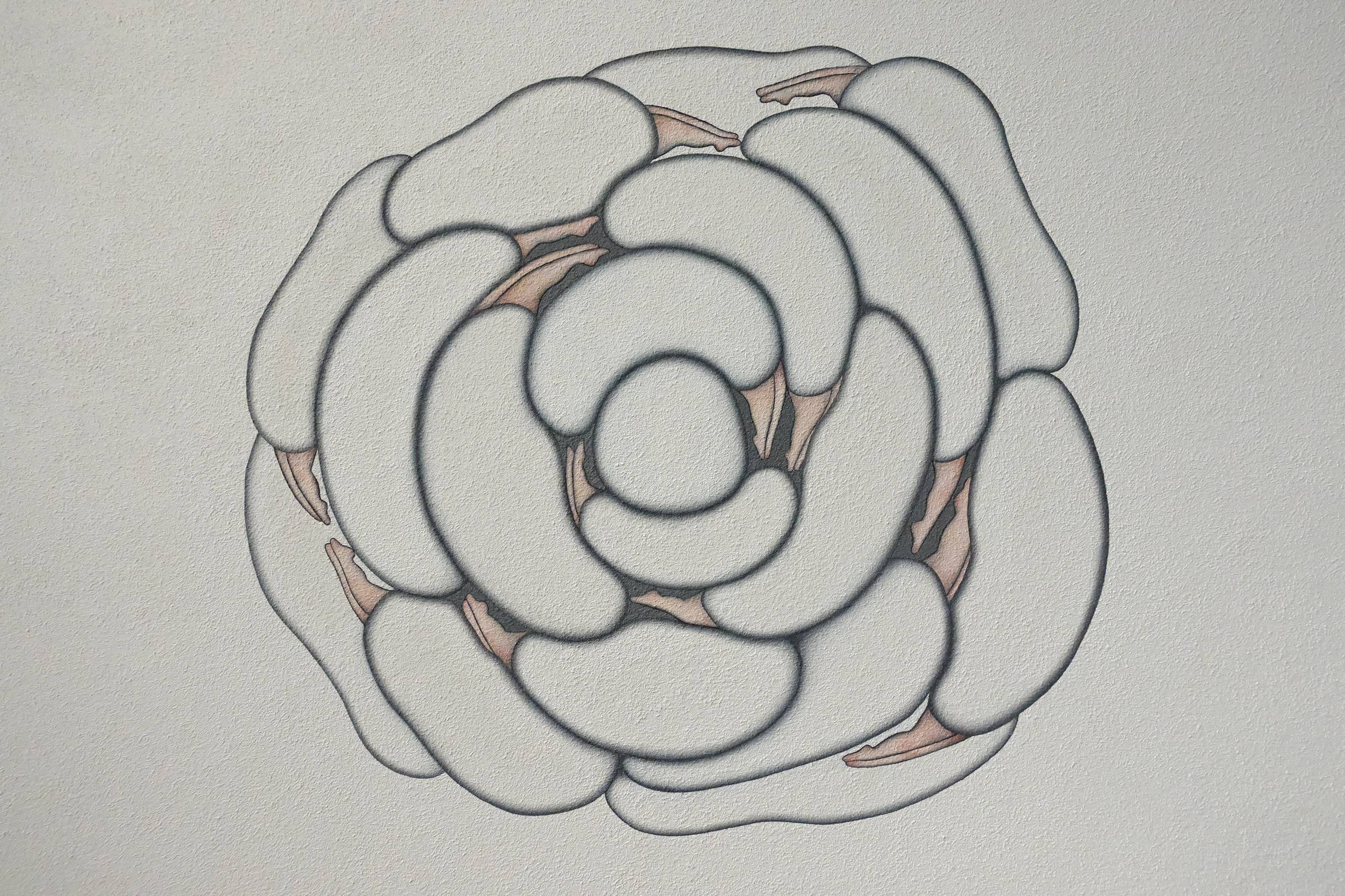 小澤香奈子作品《生生不息》。