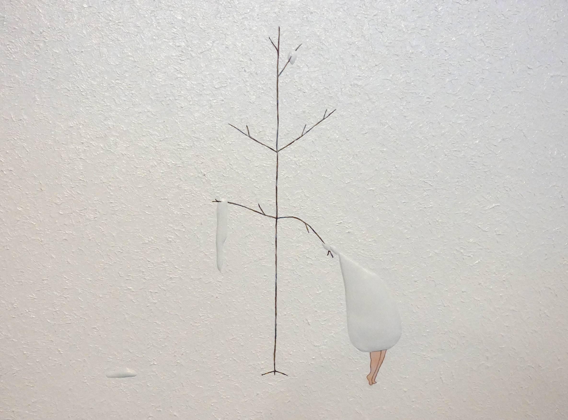 小澤香奈子作品《森林裡的私語8》。