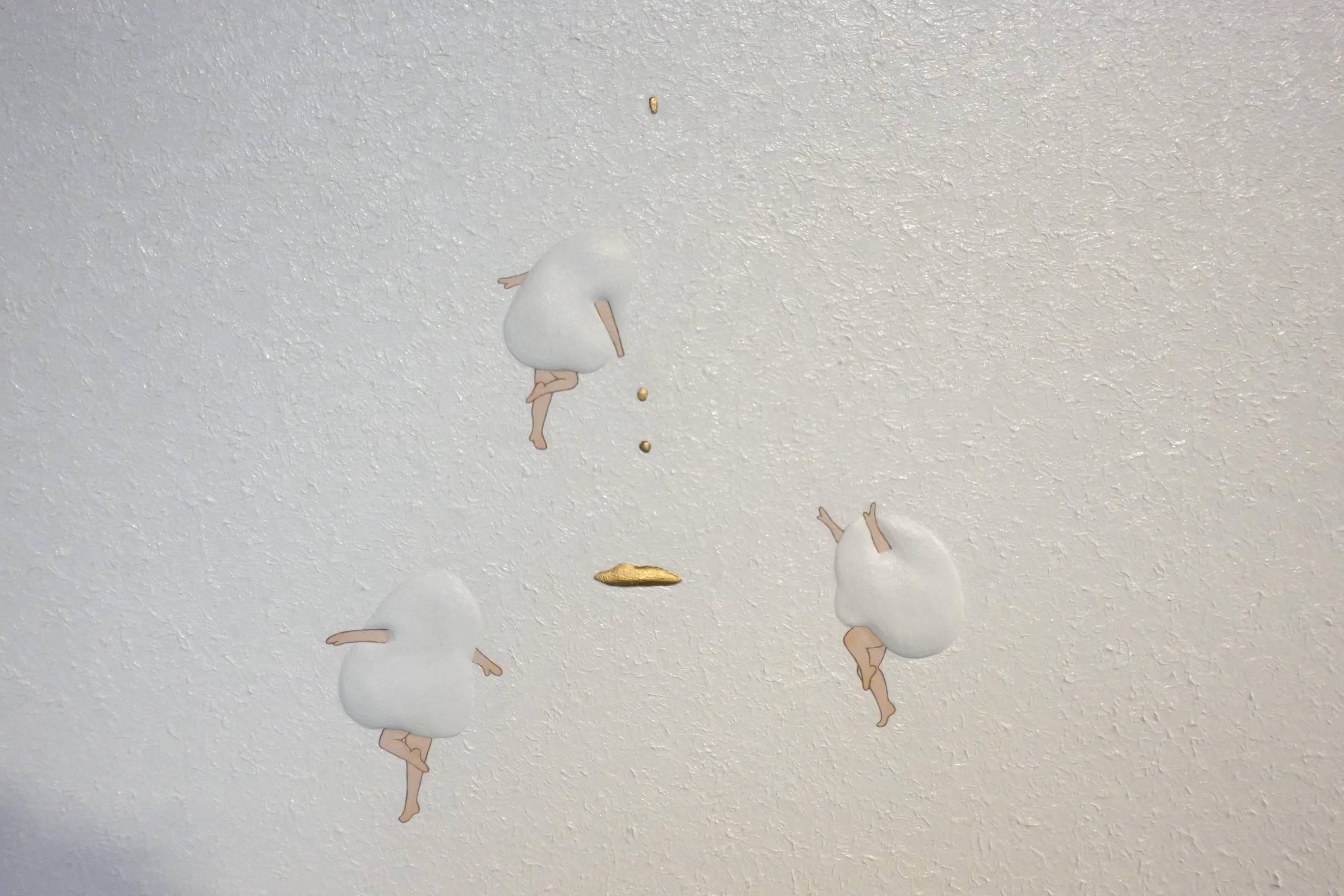 小澤香奈子作品《那天我打翻碎掉的餅乾2》。