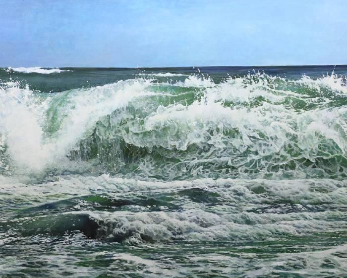 表現能力的不懈追求 虛實之間的反覆辯證 胡文賢《莫測》阿波羅畫廊40周年壓軸展出