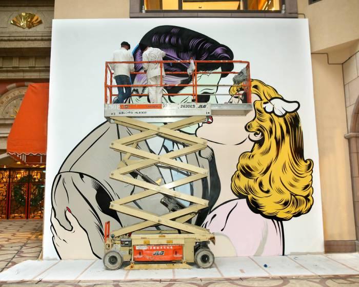 感受都會與街頭狂傲不羈的衝撞力道 國際頂尖街頭潮流藝術家首度齊聚台北