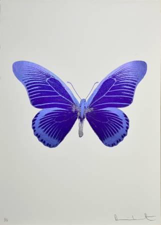 Damien Hirst, The souls IV 2010 foilblock print 72x51cm
