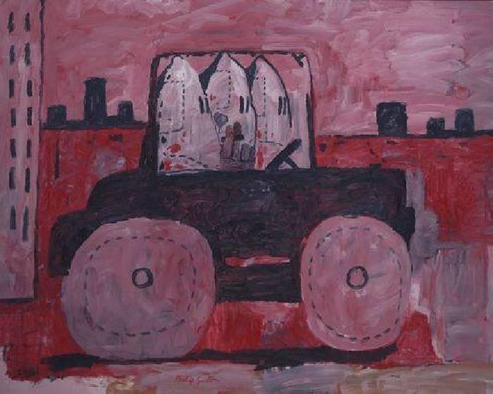 「粉紅色的深意」─豪瑟沃斯Hauser & Wirth畫廊藝術家菲利普•古斯頓(Philip Guston) _「去台北當代看什麼?」系列之三