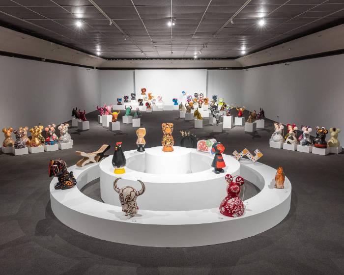 探索台灣文化色彩  「台灣色.感動生肖」220件作品,驚豔高美館