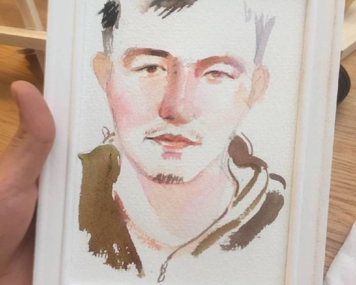 Anti-Definition【Joan Huang運用水彩暈痕及潑墨渲染 畫出不完美的絢麗模樣】