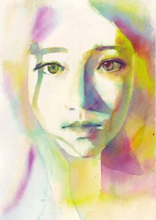 Joan Huang水彩作品2