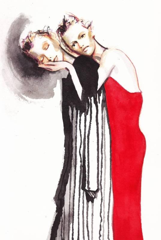 Joan Huang水彩作品4