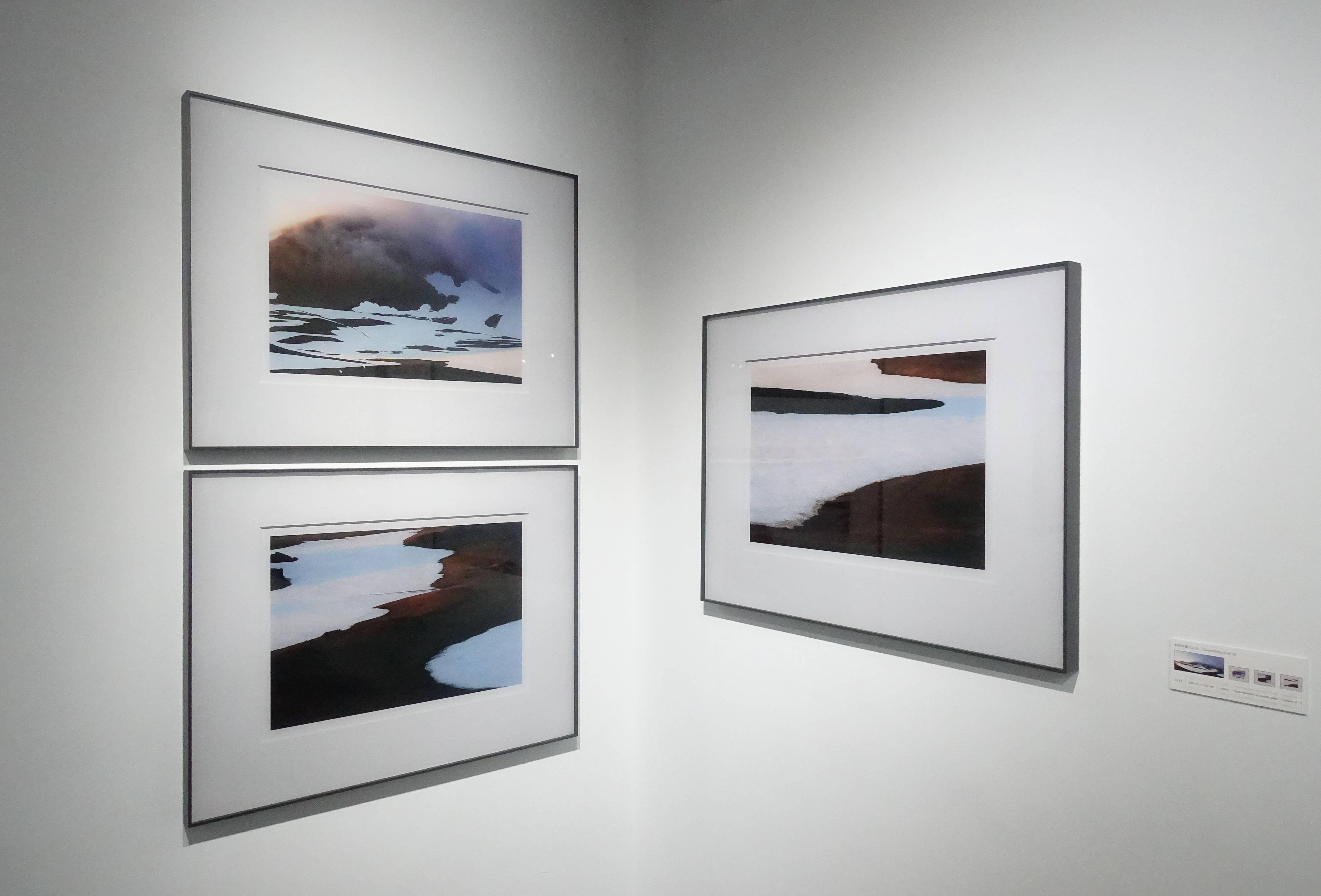 劉群群,《斯奈菲爾火山(1)》系列,攝影,2019。