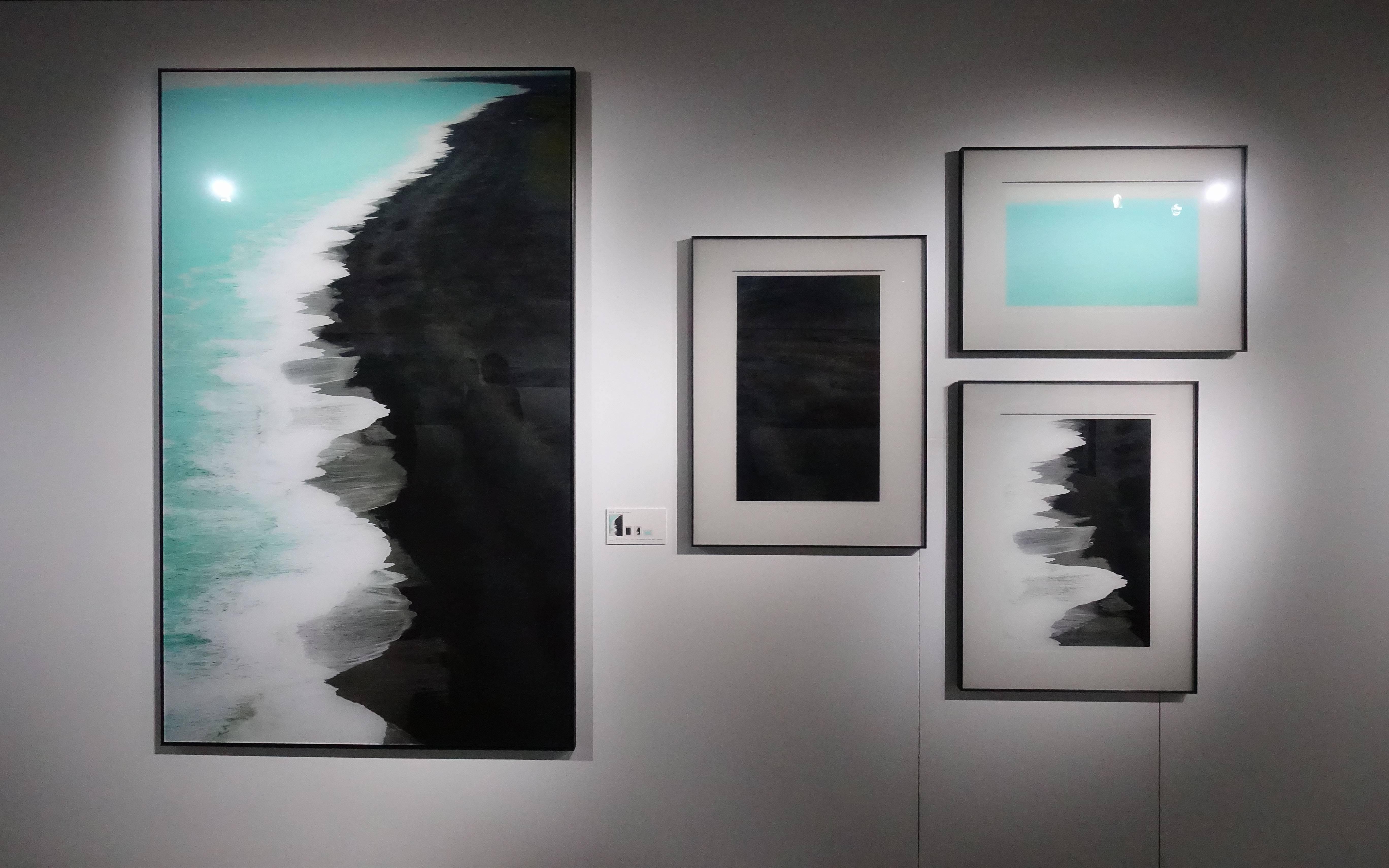 劉群群,《黑沙灘》系列,攝影,2019。