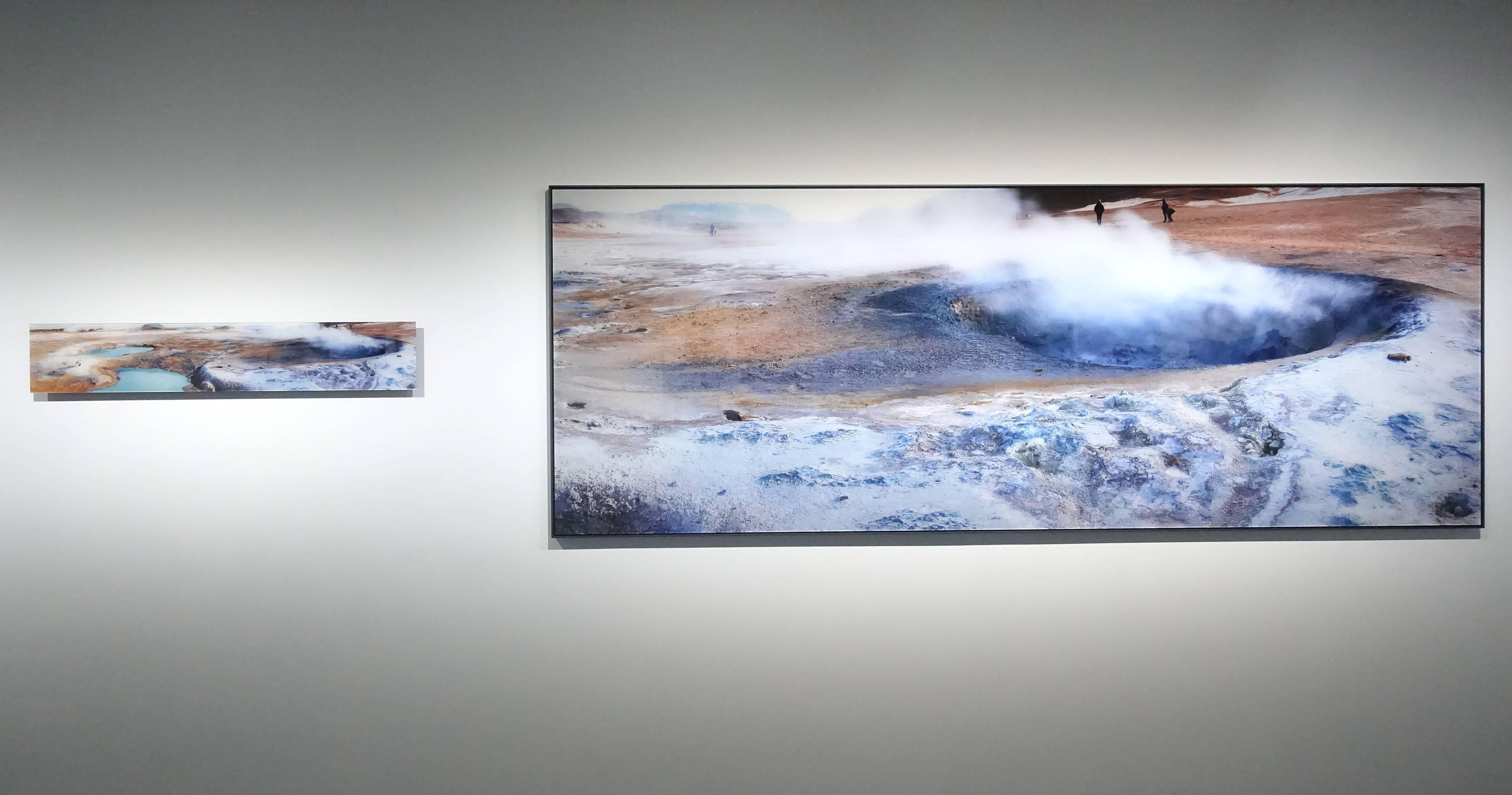 劉群群,《地熱谷》系列,攝影,2019。
