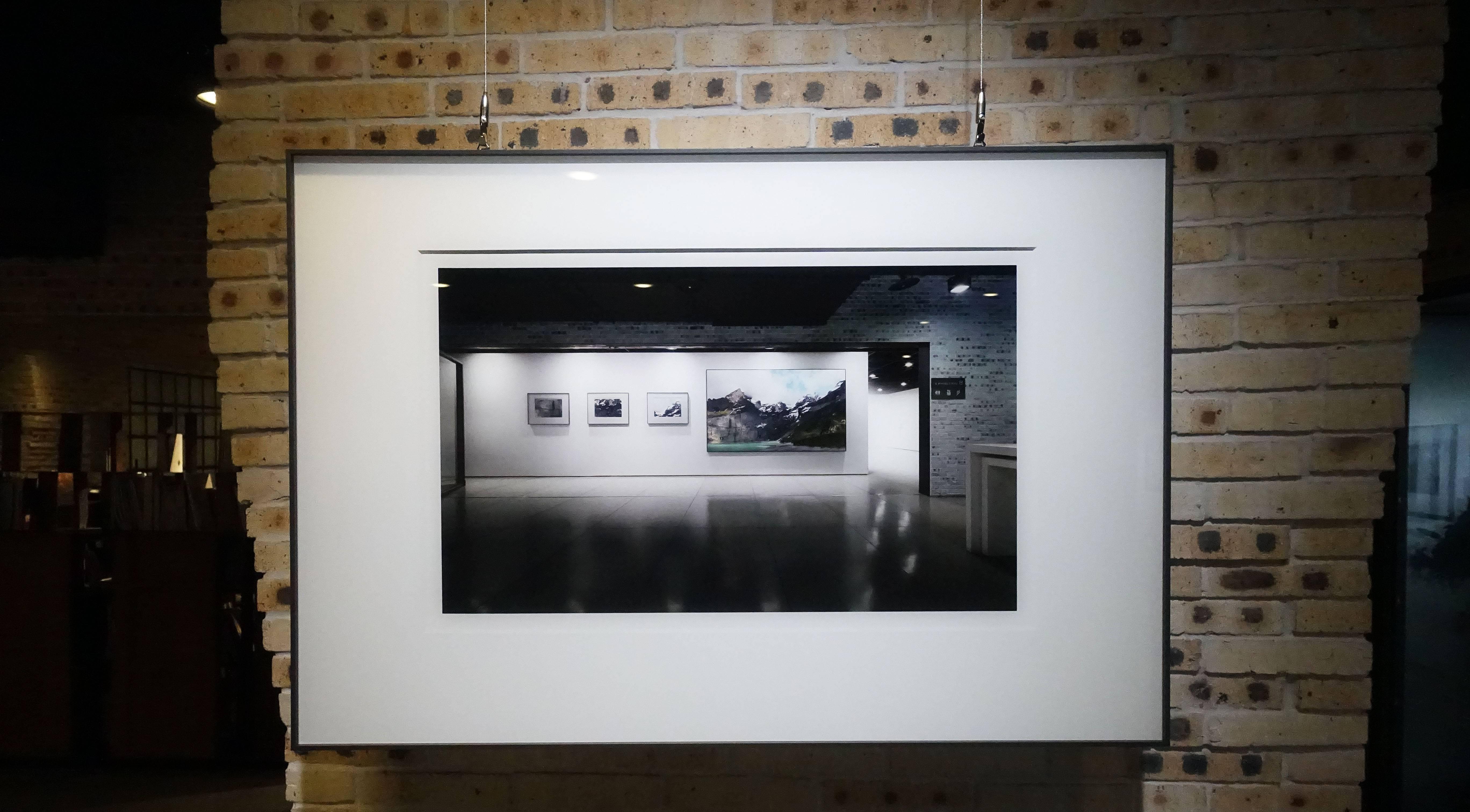 劉群群,《山中湖》系列,攝影,2019。