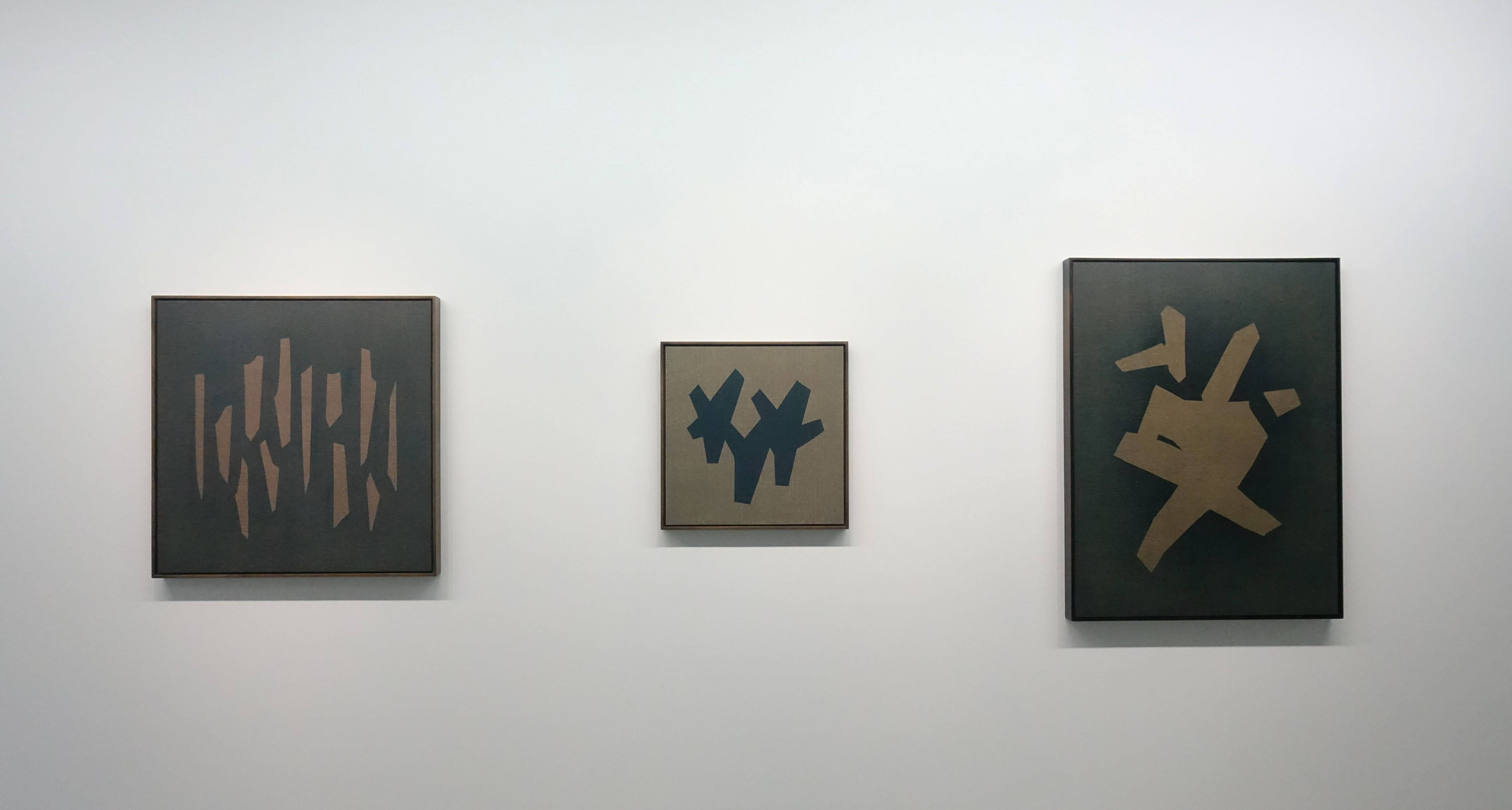 吳東龍,《Symbol-120》,2018,90x90cm,油彩畫布版。