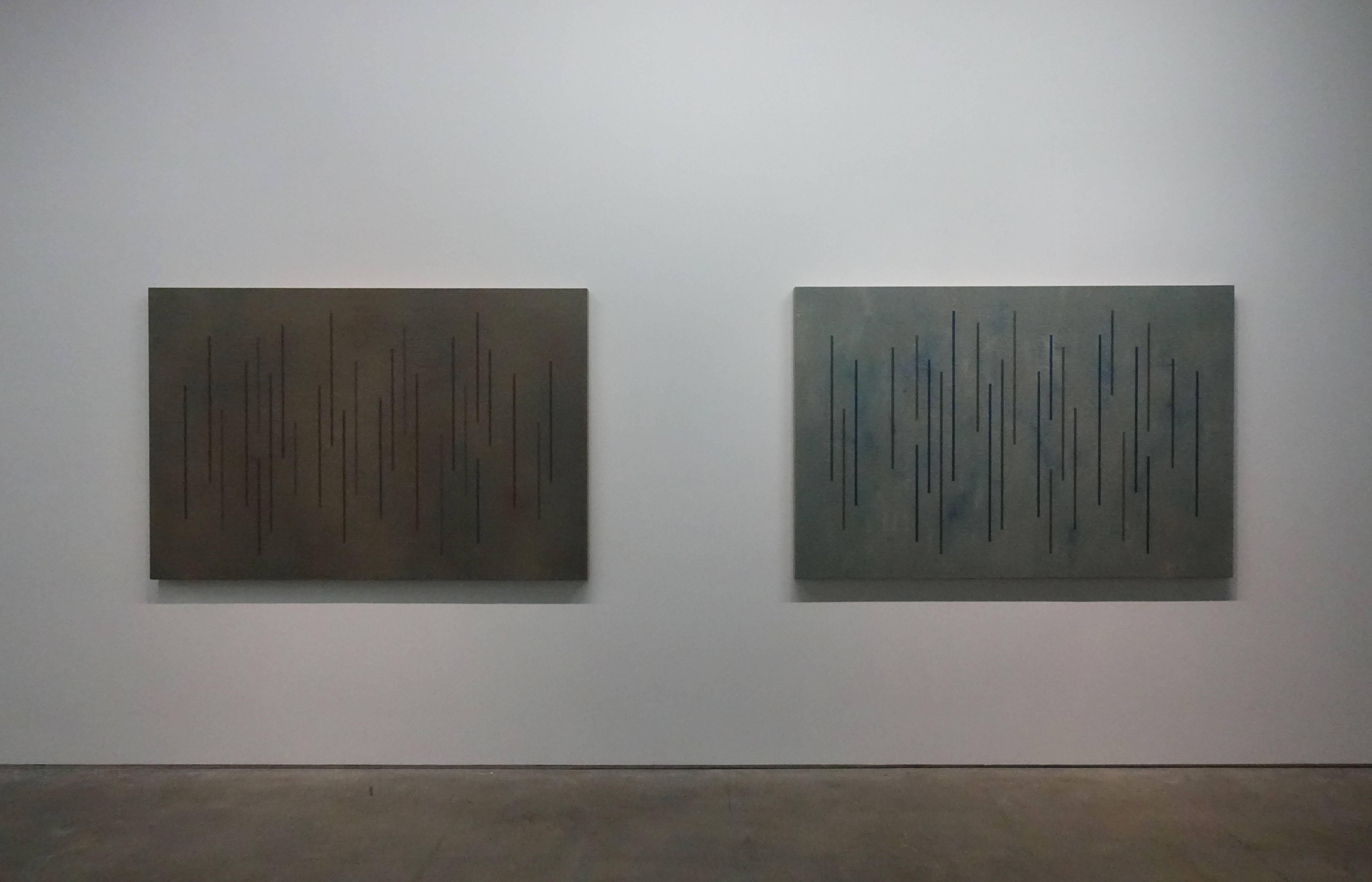 吳東龍,《Color Lines》系列作品,2018,120x180cm,油彩畫布版。