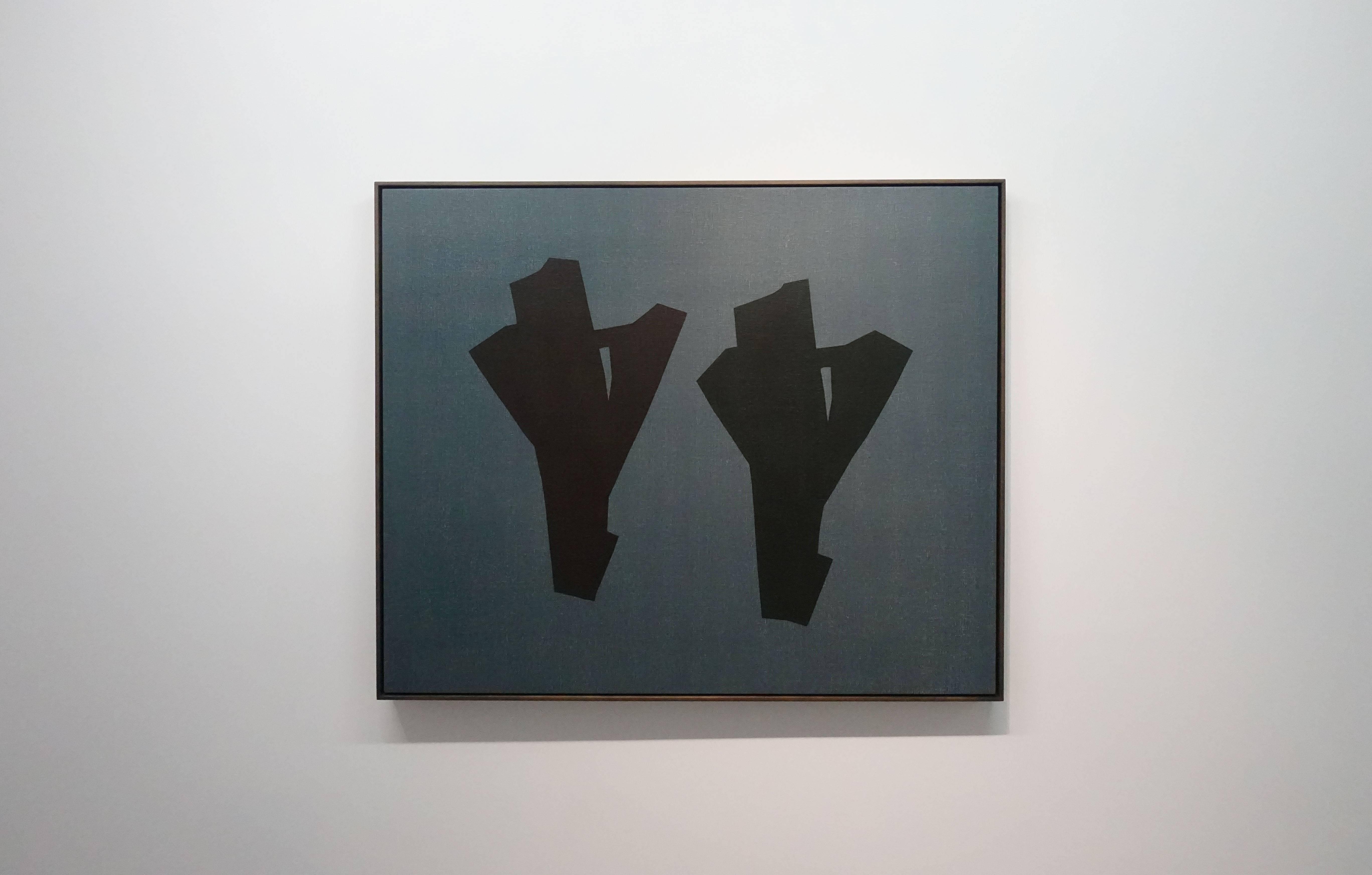 吳東龍,《Symbol-114》,2018,122x148cm,油彩畫布版。