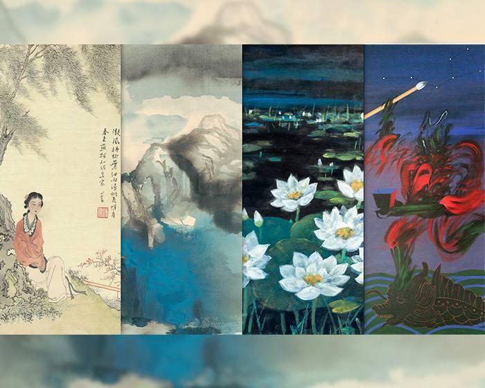 東方繪畫從近現代到當代的傳承與啟發