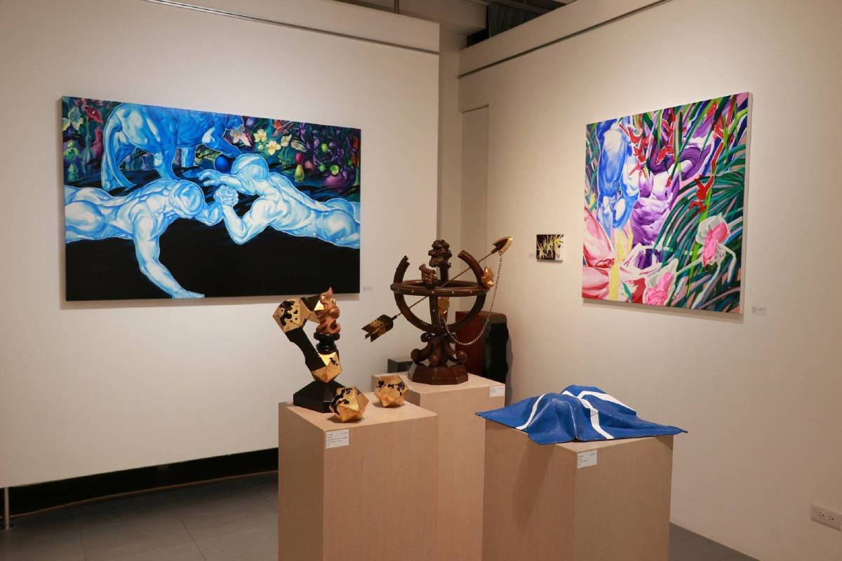 展覽空間照。圖/涅普頓畫廊提供