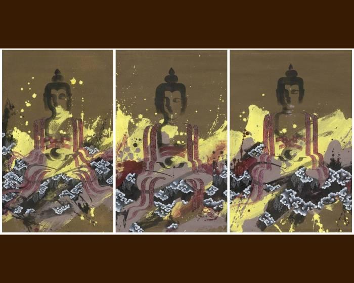 以厚實的佛國文化為底蘊 丹之寶畫廊呈現瑰麗的不丹當代藝術