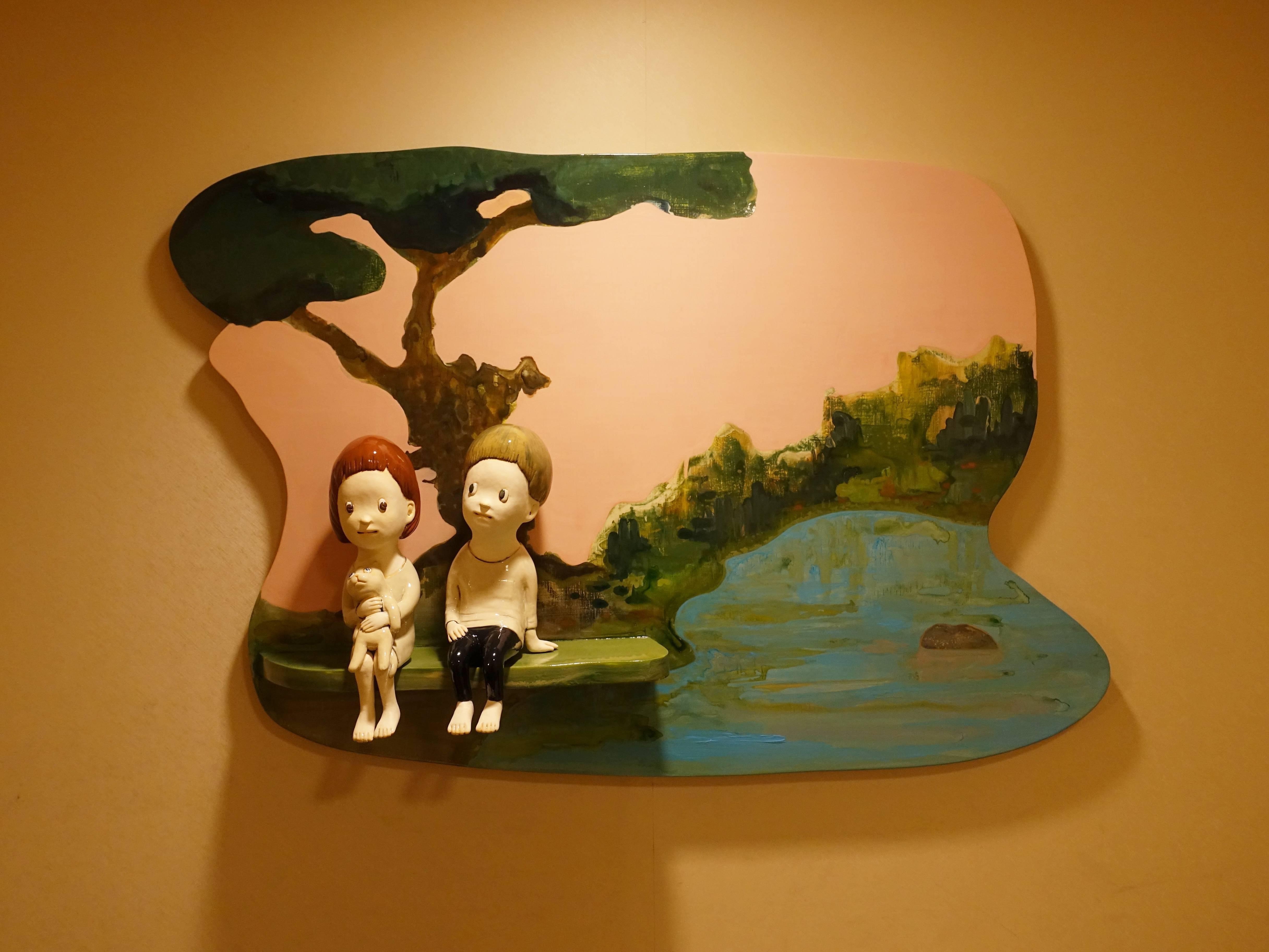 陶華灼藝廊展出作品。
