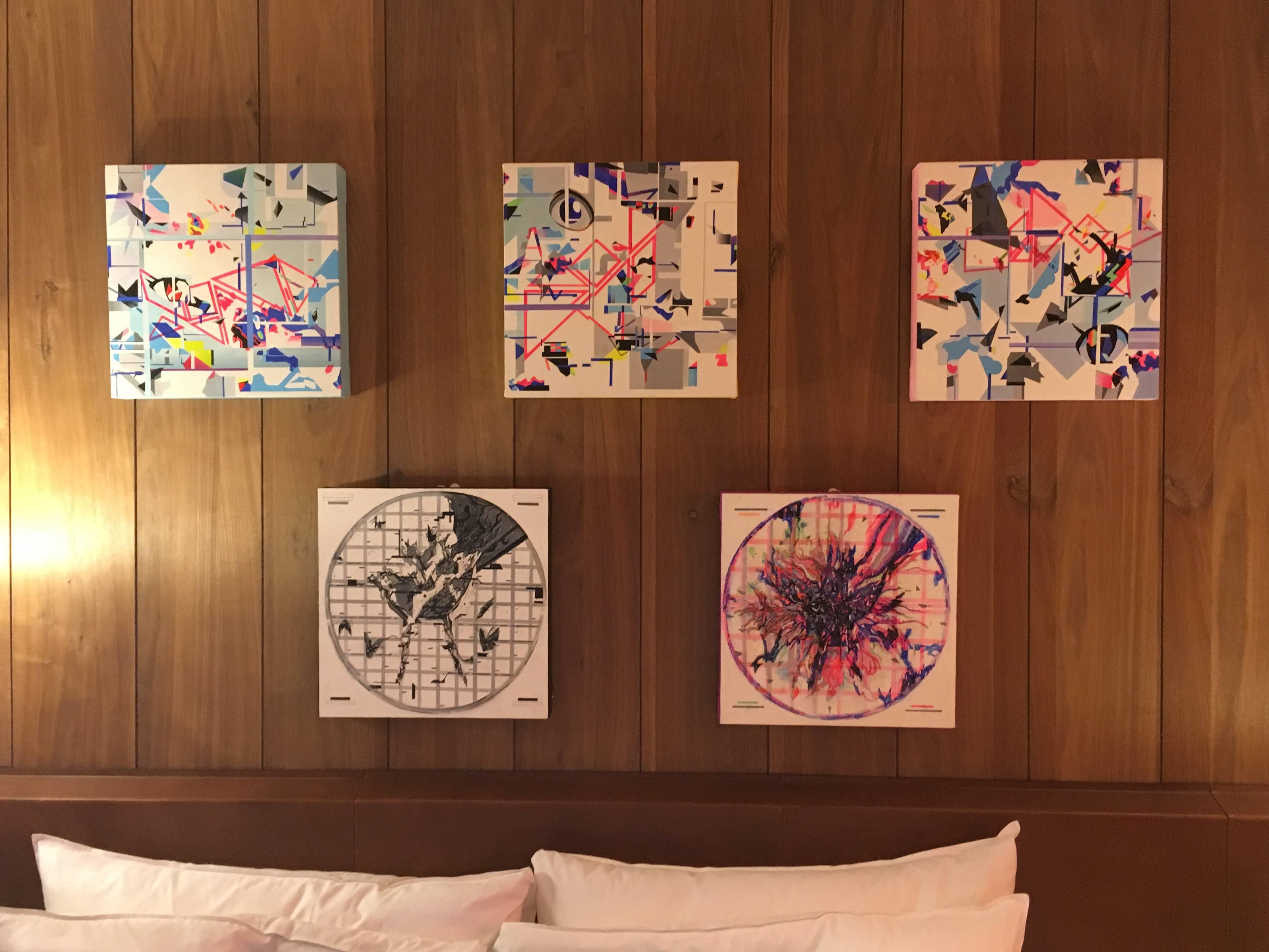 703-大學院所特展區展出作品。