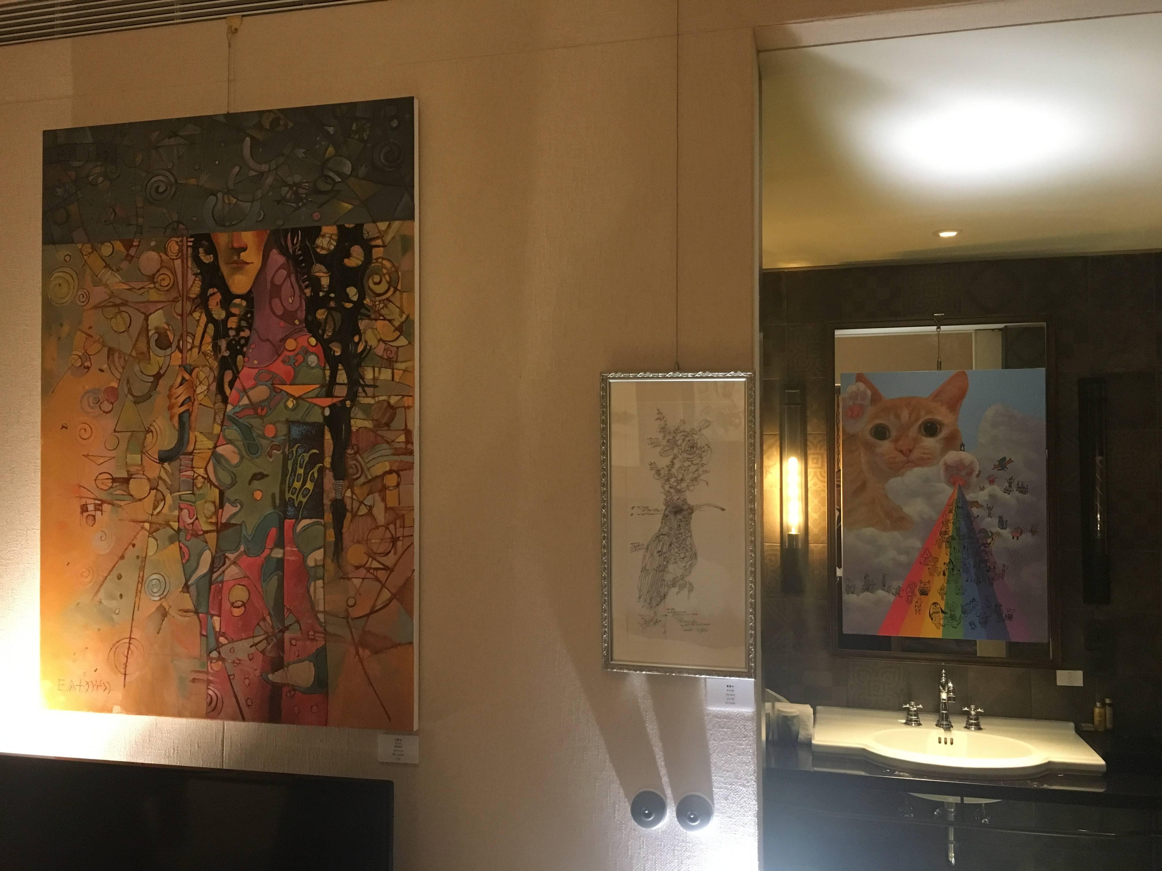 903-郭木生美術中心展出作品。