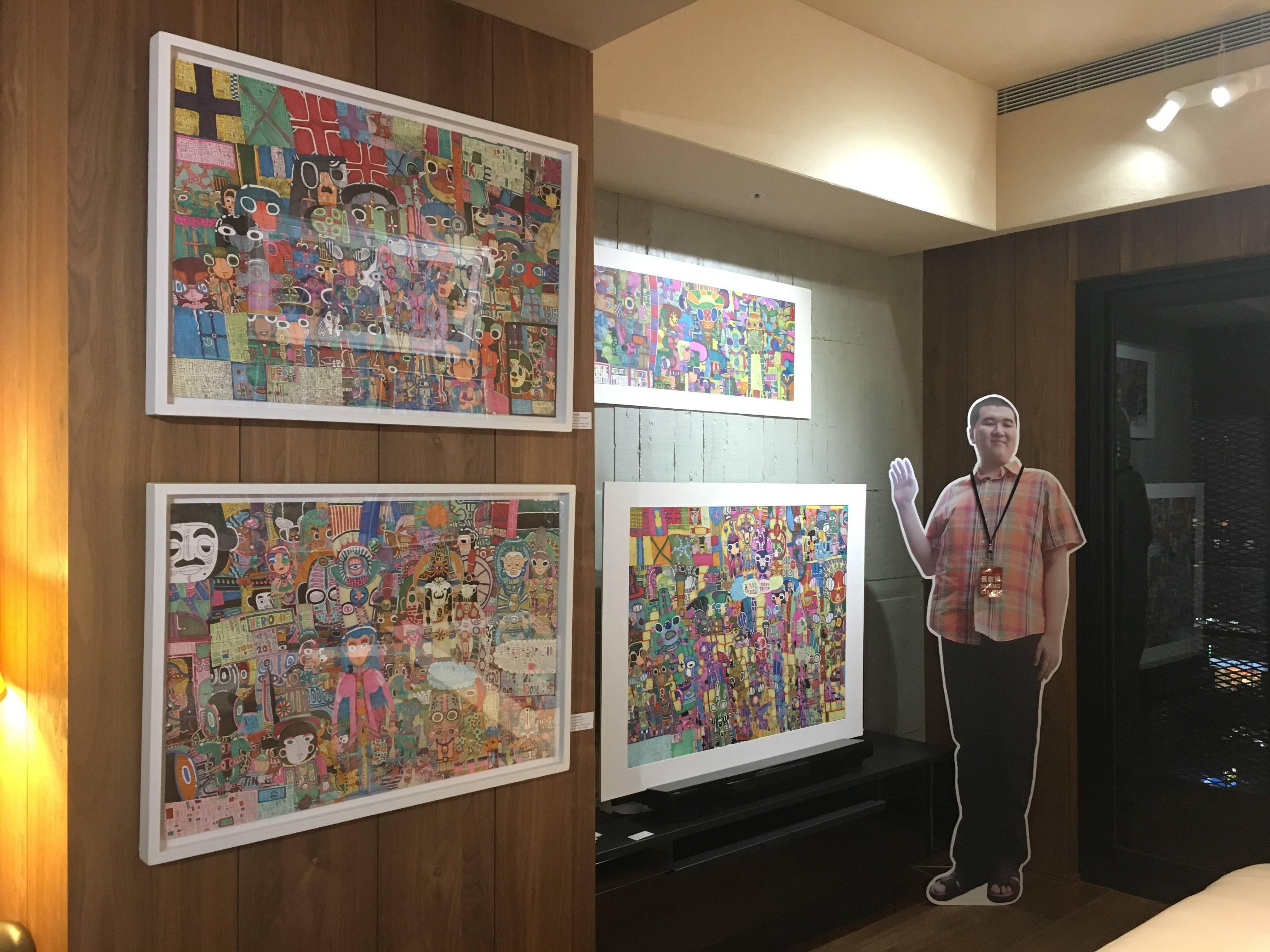906-光之藝廊展出作品。