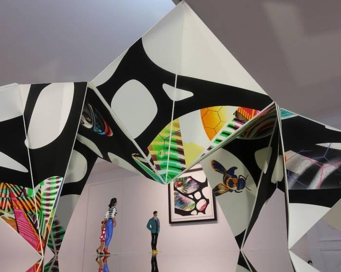 顛覆視覺感官 紙上作品新美學 亞億藝術空間展出紐約藝術家聯展