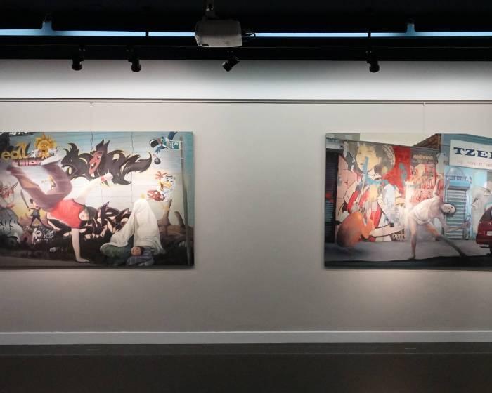 阿波羅畫廊:街頭藝人系列─曾仕猷個展