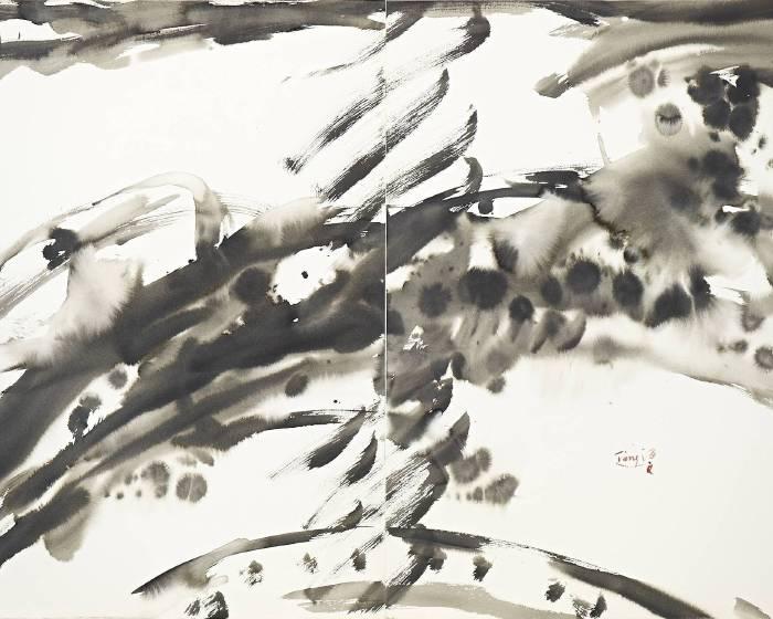 印象畫廊:【曾海文 / 繪畫之道】發表於1997北美館回顧展